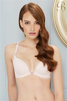 B By Ted Baker Embroidered Padded Plunge Bra