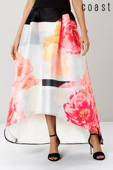 Coast Pink Floral Kyoto Skirt