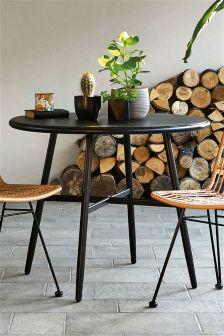 Belize Black Dining Table