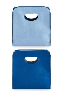 Set Of 2 Felt Storage Cubes