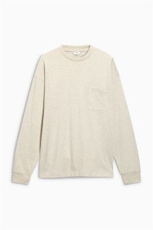 Long Sleeve Drop Shoulder T-Shirt