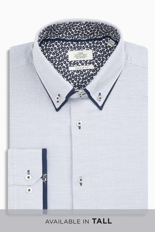 Double Collar Regular Fit Shirt