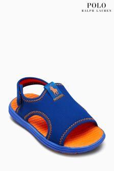 Polo Ralph Lauren Royal/Orange Stretch Kanyon Scuba Shoe