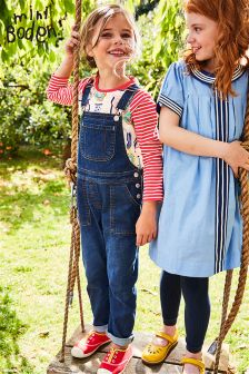 Boden Mid Vintage Long Dungarees