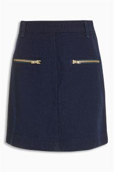 Textured Denim Skirt (3-16yrs)
