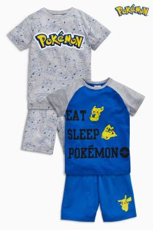Pokémon™ Short Pyjamas Two Pack (3-12yrs)