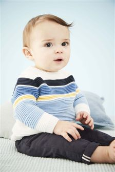 Stripe Jumper (0mths-2yrs)