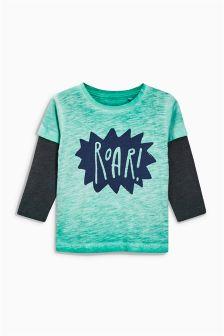 Long Sleeve Roar T-Shirt (3mths-6yrs)