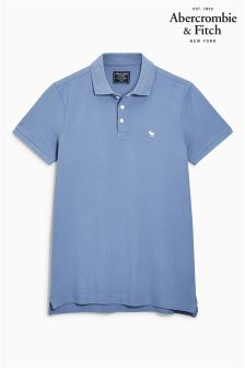 Abercrombie & Fitch Blue Polo