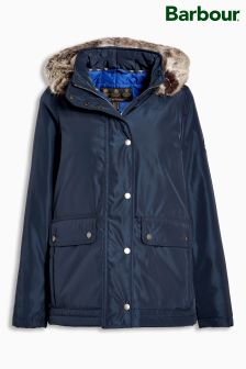 Barbour® Navy Crevasse Waterproof Jacket
