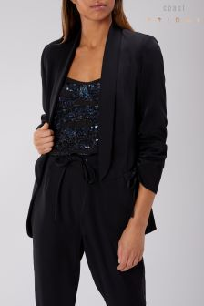 Coast Black Candice Tuxedo Jacket