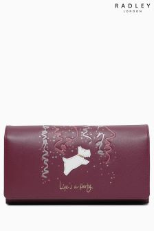 Radley Berry Red Lifes A Party Large Flapover Matinee Purse