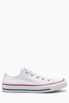 White Converse Chuck Taylor All Stars Ox