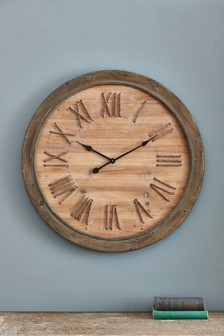 Wooden Rope Clock