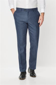 Textured Tailored Fit Suit: Trousers