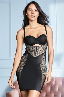 Lace Firm Control Wear Your Own Bra Slip