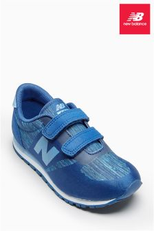 New Balance 420 Printed Blue Trainer