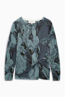 Twist Front Sweater