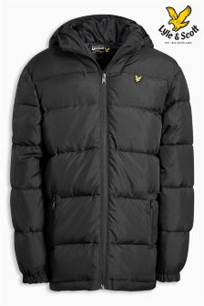 Lyle & Scott Down Blend Puffa Jacket
