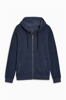 Cosy Zip Through Hoody
