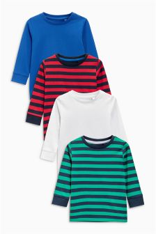 Long T-Shirt Four Pack (3mths-6yrs)