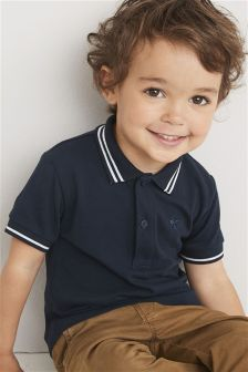 Short Sleeve Essential Polo (3mths-6yrs)