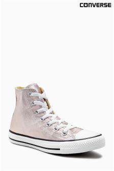 Converse Rose Gold Metallic Chuck Taylor All Star Hi