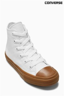 Converse White Chuck Taylor All Star II Hi