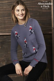 Abercrombie & Fitch Ski Christmas Jumper