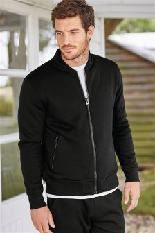 Fleece Lined Bomber Jacket