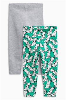 Printed Leggings Two Pack (3mths-6yrs)