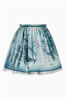 Forest Scene Prom Skirt (3-16yrs)