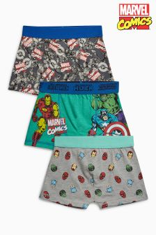 Marvel Trunks Three Pack (2-12yrs)
