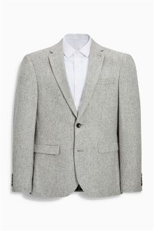 Twill Slim Fit Jacket