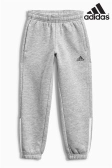 adidas Essential Grey 3 Stripe Jogger