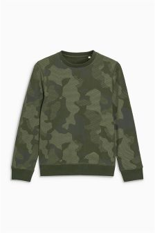 Print Sweat Top (3-16yrs)