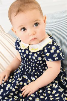 Daisy Dress And Knicker Set (0mths-2yrs)