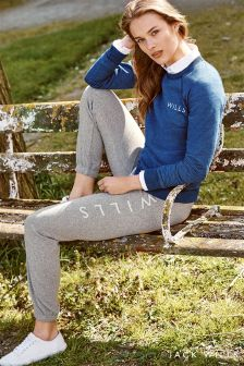 Jack Wills Grey Maynestone Slim Sweatpant