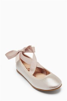 Ballet Tie Shoes (Older Girls)