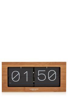 Flip Wood Mantle Clock