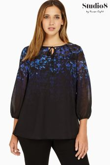 Studio 8 Blue Jess Top
