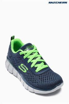 Skechers® Navy Equalizer Knit Sneaker