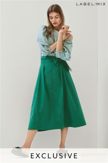 Mix/Isa Arfen Tie Waist Skirt