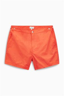 Adjustable Waist Swim Shorts