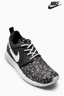 Nike Black Printed Roshe One