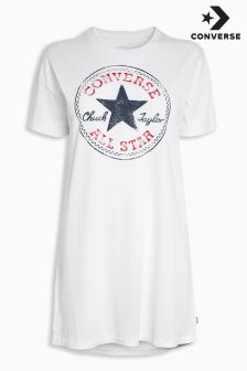 Converse White Chuck Patch Dress