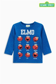 Long Sleeve Elmo T-Shirt (3mths-6yrs)
