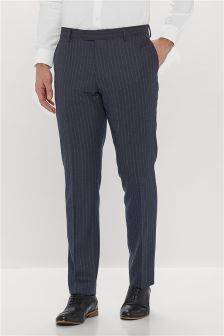 Stripe Slim Fit Suit: Trousers