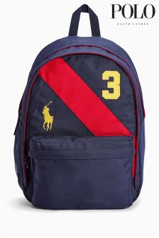 Ralph Lauren Navy/Red Backpack
