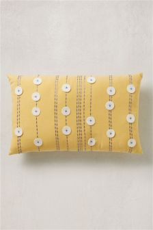 Dotty Felt Appliqué Cushion